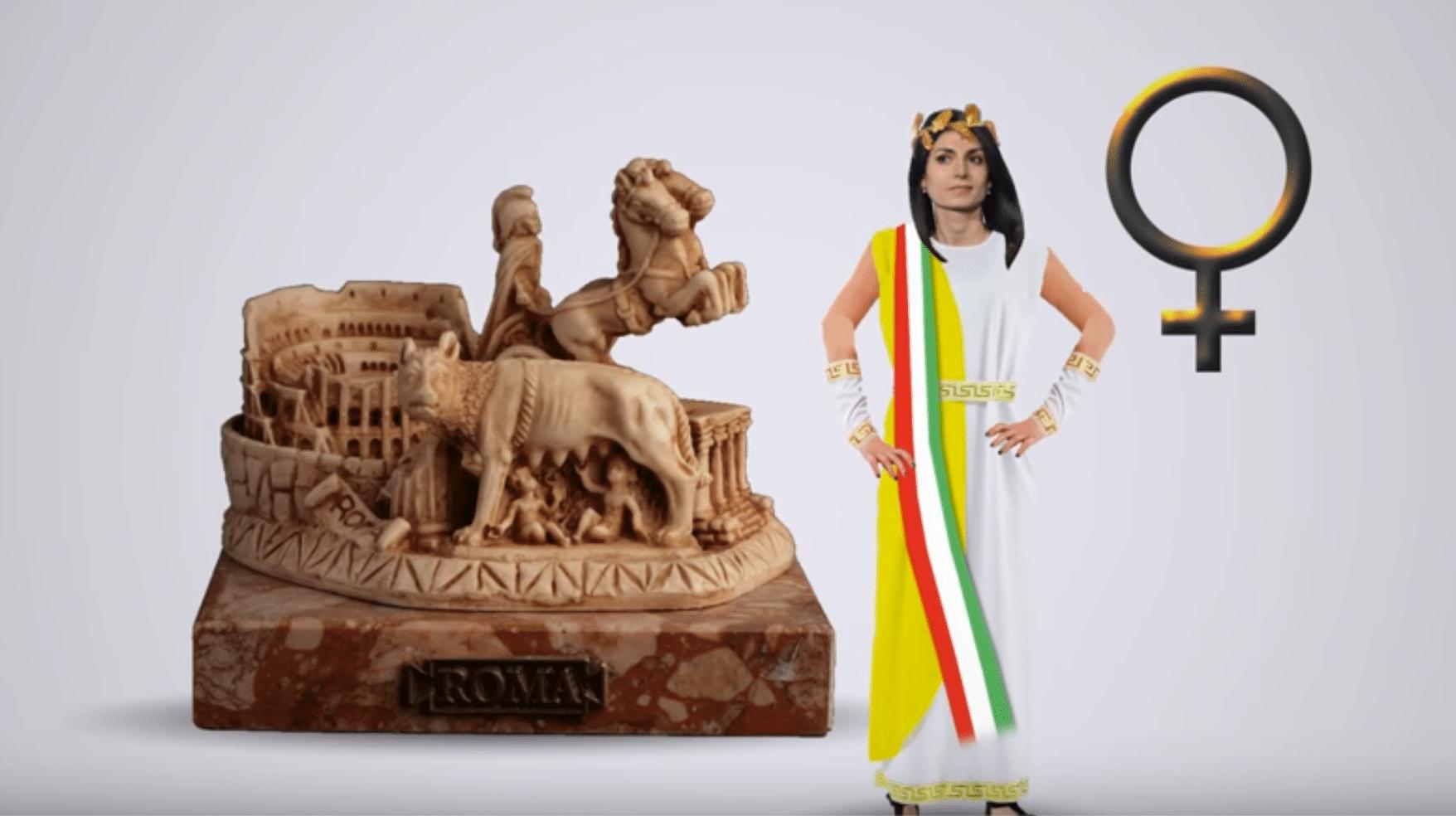 Animazione che racconta il primo anno dell'amministrazione di Roma guidata dalla sindaca Virginia Raggi (realizzazione giugno 2017)