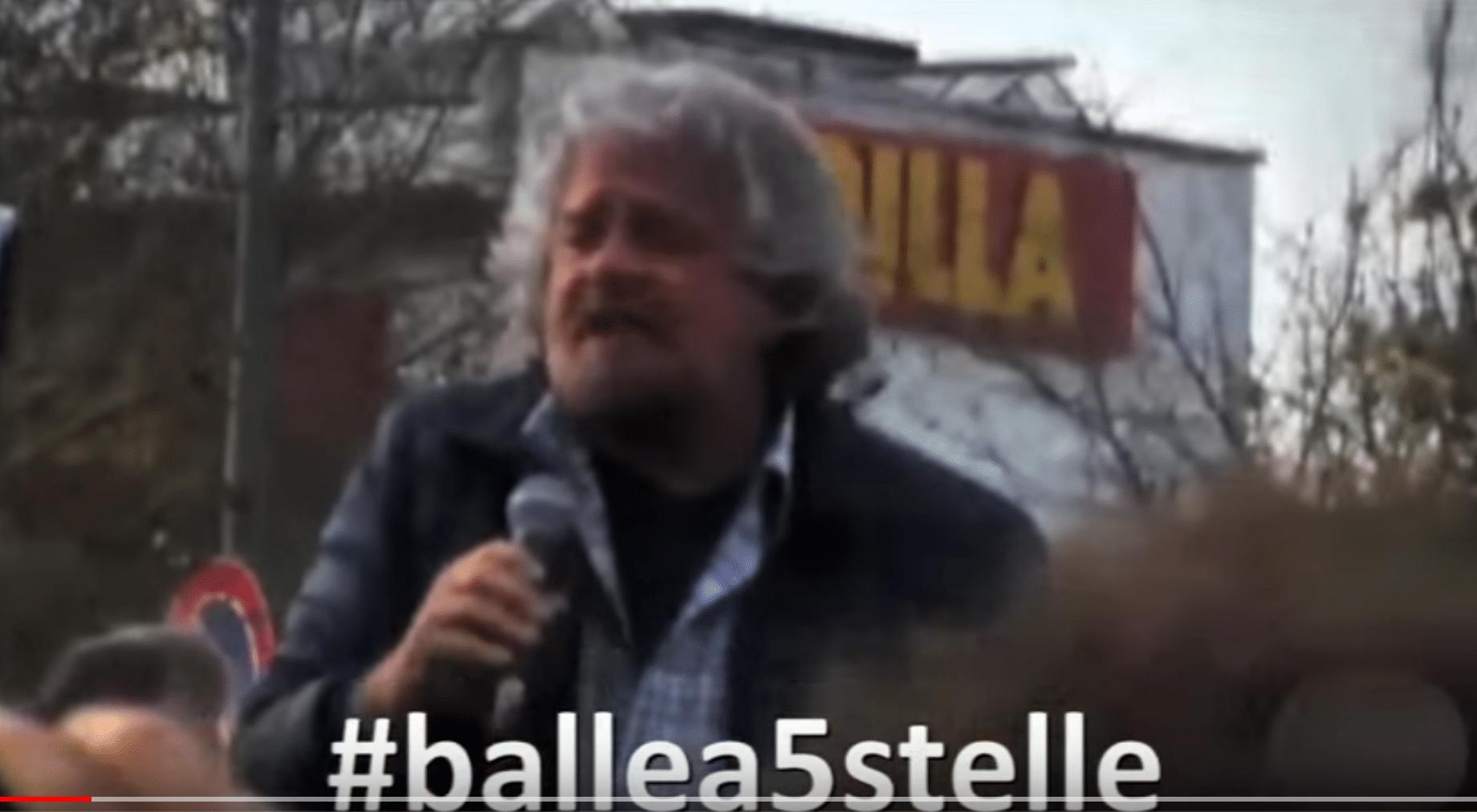 Campagna #ballea5stelle a favore dell'EXPO (realizzazione Ottobre 2015)